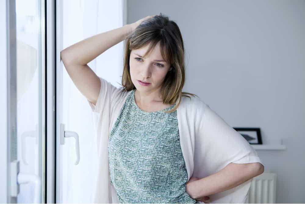 Concerned mature female